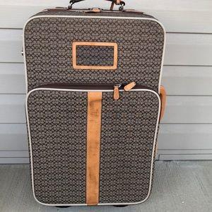 Coach Rolling suit case